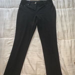Black style and co stretch pants Sm